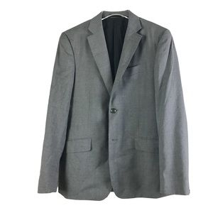 Rag & Bone for Barney's Gray Gaberdine Blazer